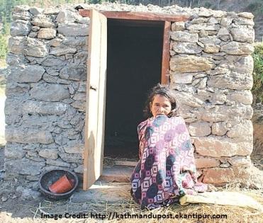 Nepal criminalises isolation of menstruating women=