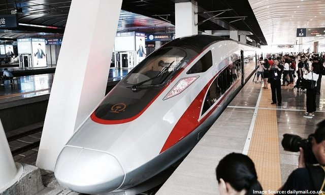 China launches 'Next Generation' Bullet Train
