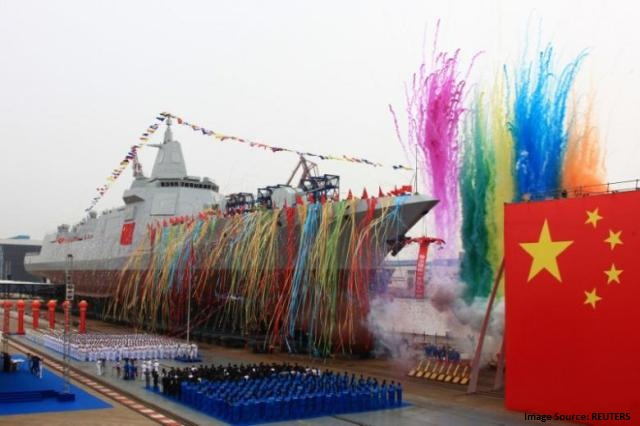 Chinese Navy launches biggest new generation destroyer