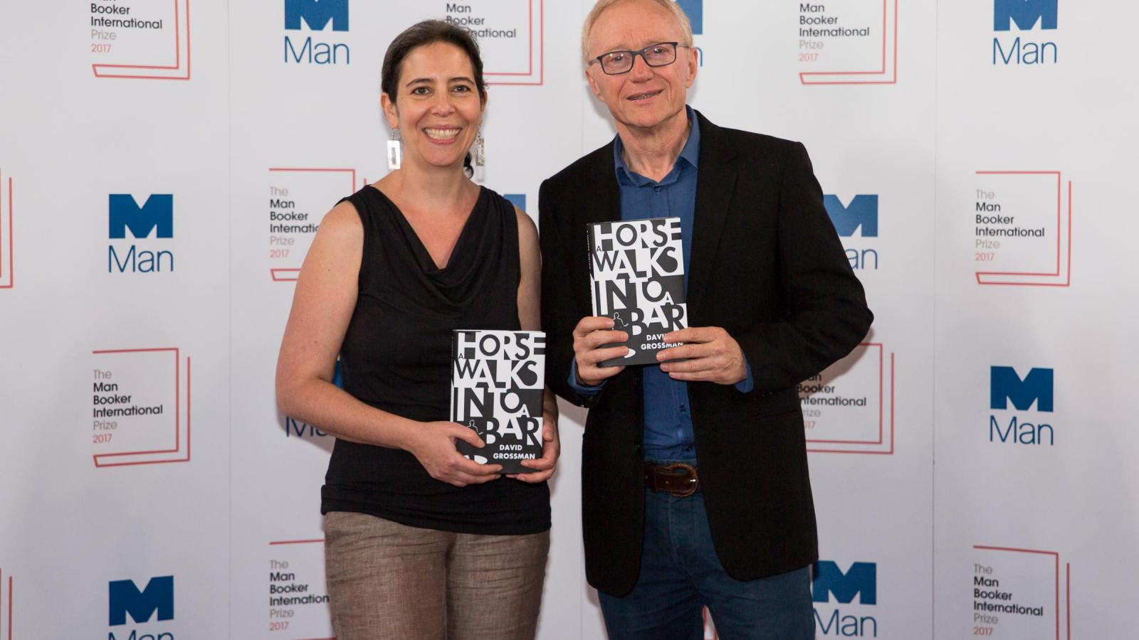 David Grossman wins Man Booker International Prize 2017