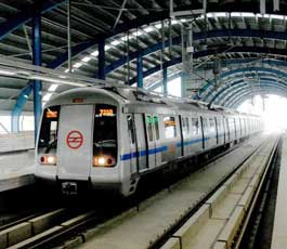 Delhi Metro recorded