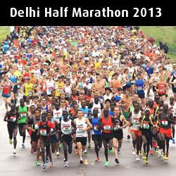 Delhi Half Marathon 2013