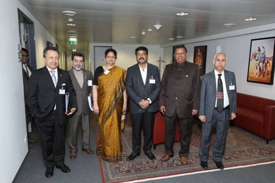 Dharmendra Pradhan co-chairs India OPEC Institutional Dialogue at Vienna