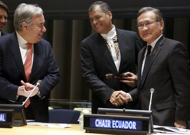 Ecuador takes chair of UN group of 134 developing countries