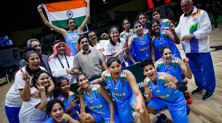 2017 FIBA Women's Asia Cup: India beat Kazakhstan to clinch Division B crown