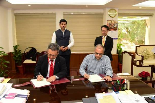 Canon to support skill-oriented courses as Technology Partner, MoU signed between FTII and Canon to promote short courses in Film & Television