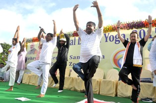 'Celebrating Yoga' mobile app