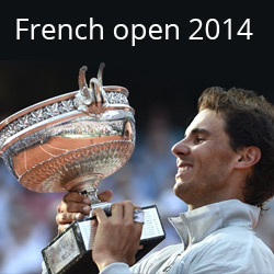 French Open title 2014