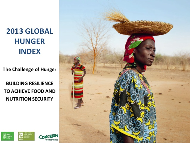 2013 Global Hunger Index (GHI)
