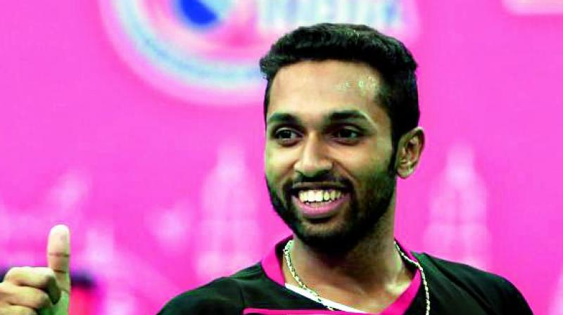 HS Prannoy beats Parupalli Kashyap to lift 2017 US Open Grand Prix Gold badminton title