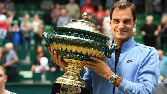 Roger Federer defeats Alexander Zverev to lift ninth Halle Open title