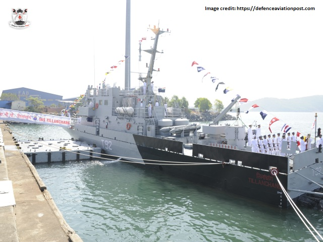 INS Tillanchang commissioned