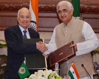 India and Arab League
