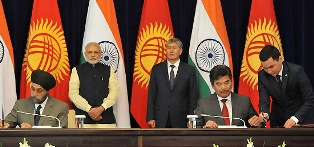 India and Kyrgyzstan