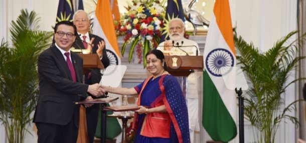 India-Malaysia inked seven agreements