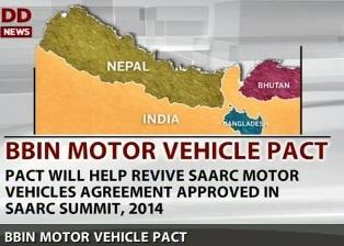 Bangladesh, Bhutan, India and Nepal
