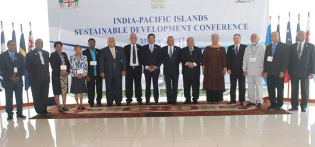 India-Pacific Islands Sustainable Development Conference held