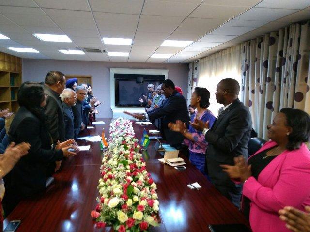 India Rwanda sign MoUs