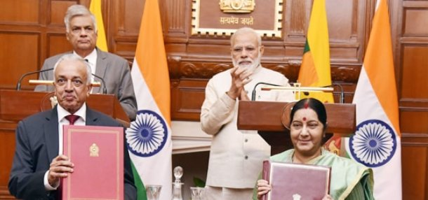 India and Sri Lanka sign MoU on Economic Cooperation