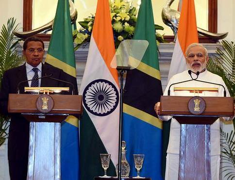 India and Tanzania