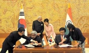 India and South Korea
