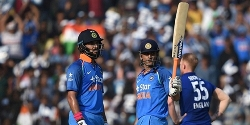India wins ODI series against England
