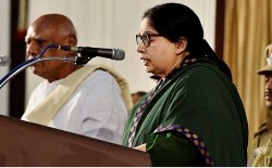 JayalalithaaSworn-In