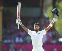 Kohli third test century