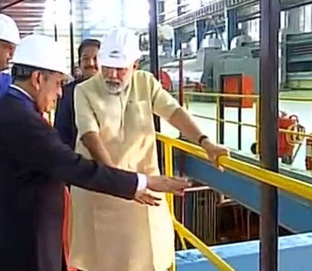 PM Modi inaugurates new units in Koradi thermal power station