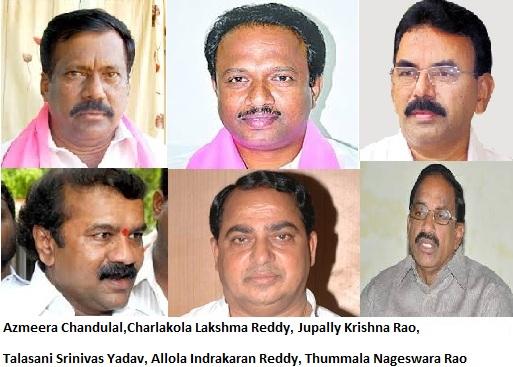 Six new ministers