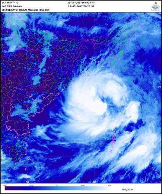 Cyclonic Storm MORA