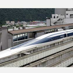 maglev bullet trains