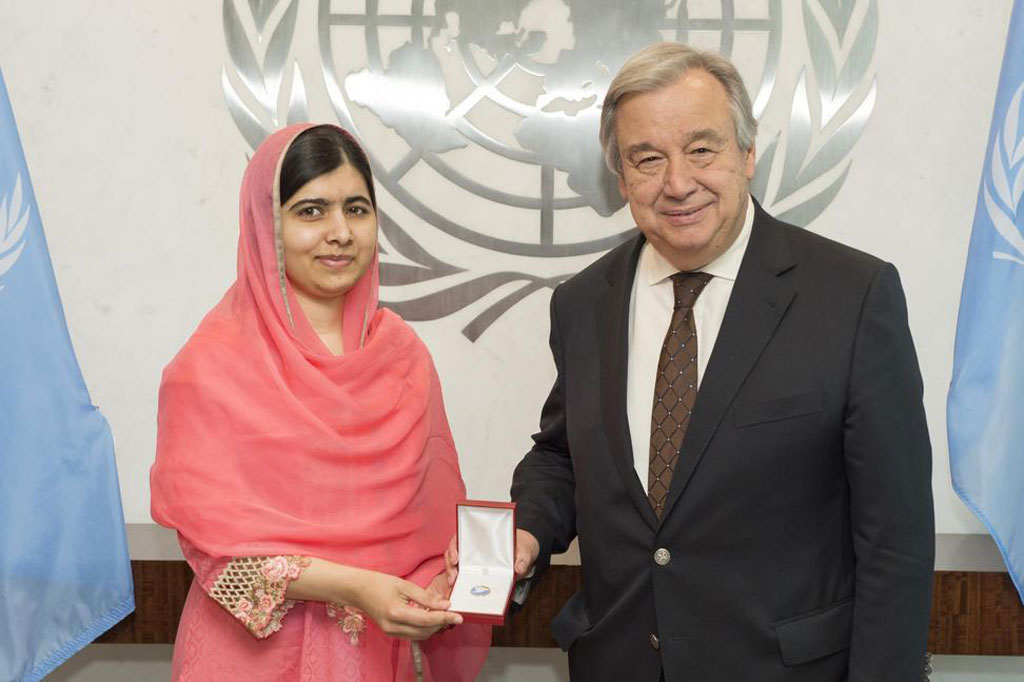 Malala Yousafzai designated UN Messenger of Peace