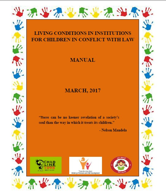 Manual on Living conditions in Institutions for Children in conflict with Law