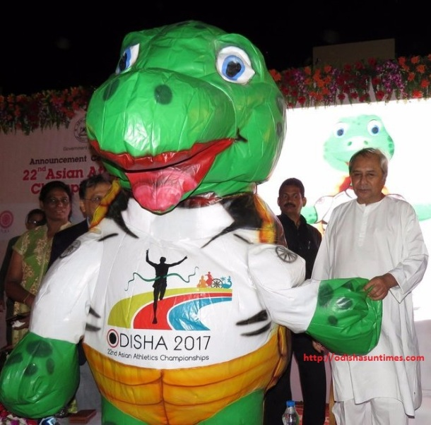 Olive Ridley to be mascot of Asian Athletics