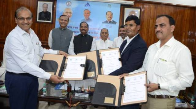 Tripartite MoU signed for Development of Deoghar Airport