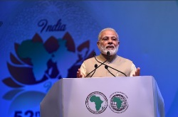 Modi inaugurates Annual Meeting of African Development Bank