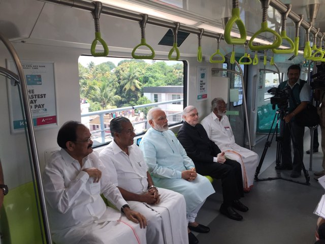 Kerala gets its first Metro in Kochi