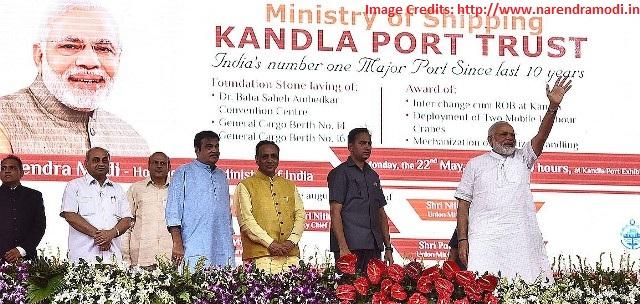 PM Modi inaugurates series of projects in Gujarat