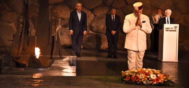 Modi pays homage at Yad Vashem Memorial in Jerusalem=