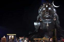 Modi unveils 112 ft Shiva bust