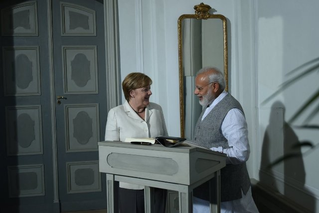 India, Germany signed 12 Agreements