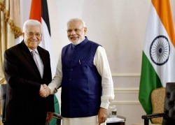 India, Palestine signed five agreements