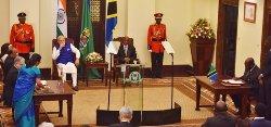Modi in Tanzania