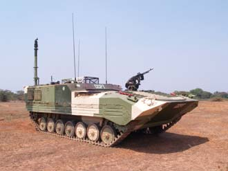 India's first unmanned tank Muntra