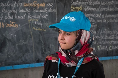 In a first, UNICEF appoints Syrian refugee Muzoon Almellehan as Goodwill Ambassador