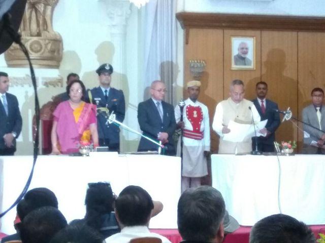 Biren Singh sworn in as CM of Manipur