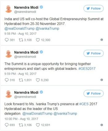 India and US Global Entrepreneurship Summit=