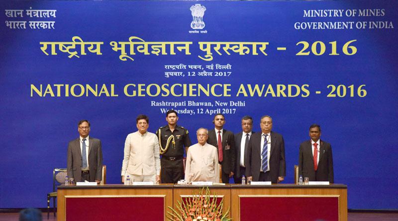 National Geoscience Awards 2016