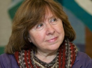 Belarusian author Svetlana Alexievich